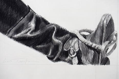 (Detail) 2015, Soldier, 90x90 cm, pencil on paper