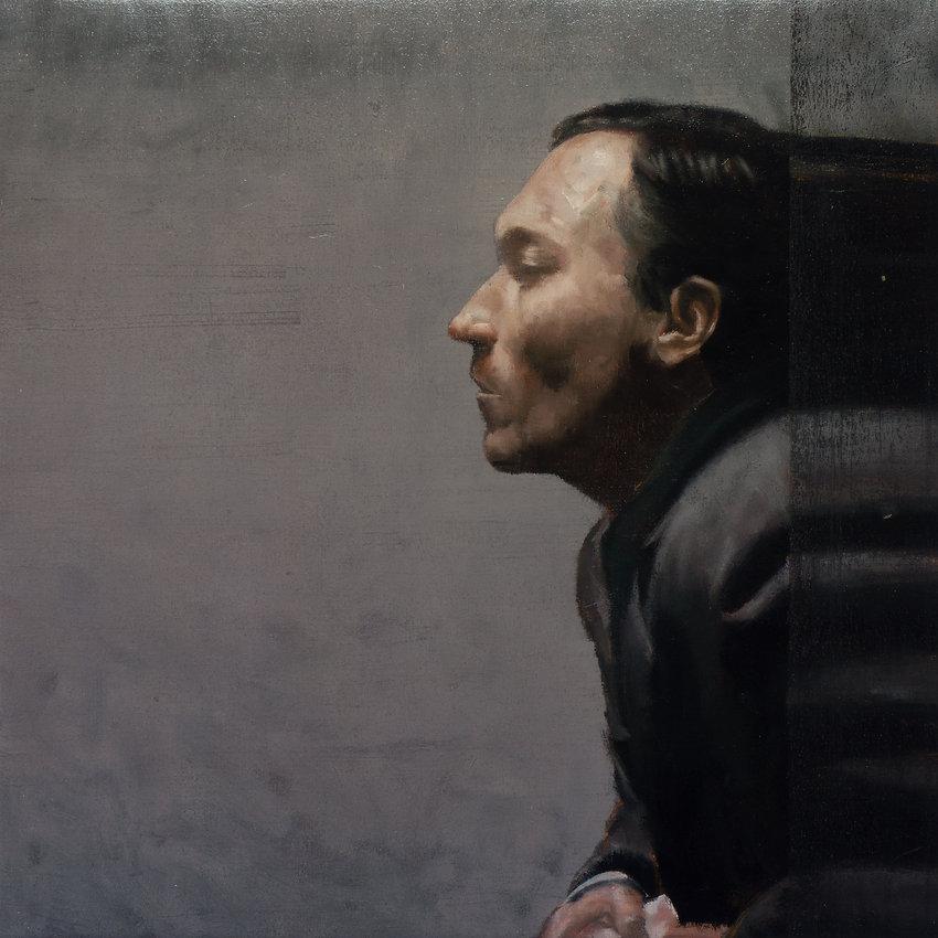 2014, FRAME series, 80x80 cm, oil on canvas