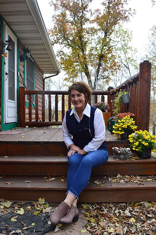 Photo - Sitting on porch.JPG