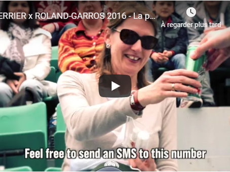 Spectacles - Roland Garros