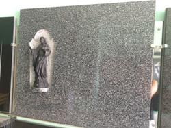 Lapida figura Corazon de Jesus
