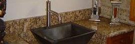 Cocina de granito en Burriana, baño de marmol, cocina de granito, escalera de granito, silestone, compac
