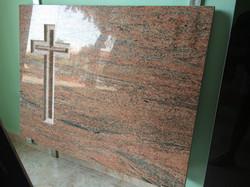 Lapida cruz pulida