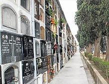 Trabajo de cementerio, restauración de lápidas, saneamiento de nichos, limpieza de lapidas, pintura de inscripciones