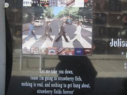 Lapida disco Beatles