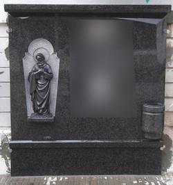 Lapida figura marmolina SanFrancisco