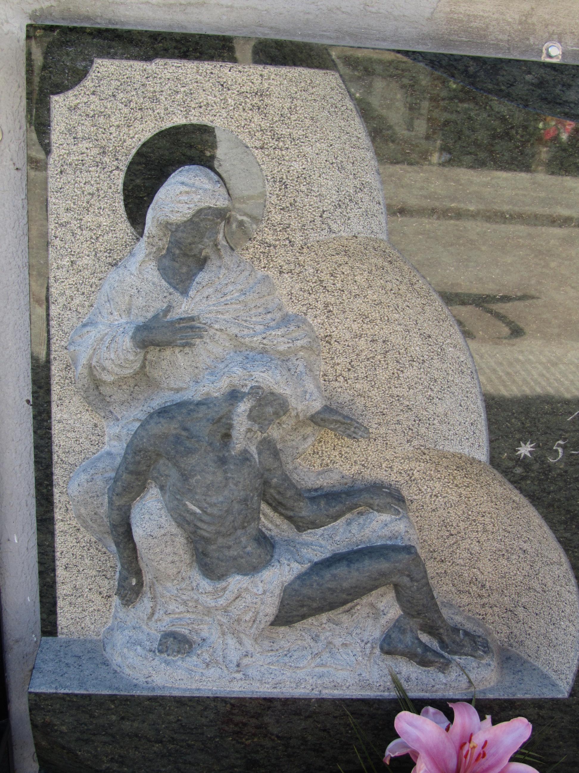 Escultura Piedad Miguel Angel