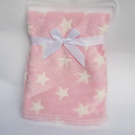 מתנה ליולדת - שמיכת פלנל לתינוקת