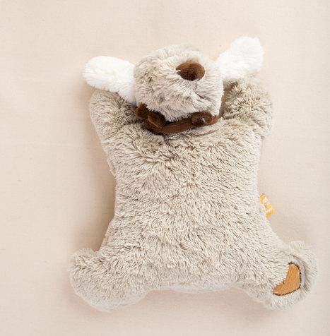 מארז לידה - בובת כלבלב רך עם פעמון _ק.jp