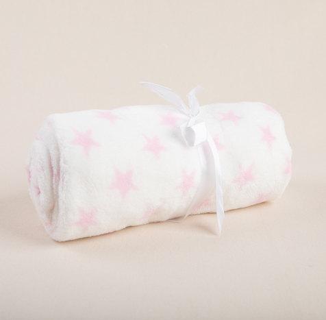 משלוח מתנה ליולדת - שמיכת כבש תינוקת 2 _