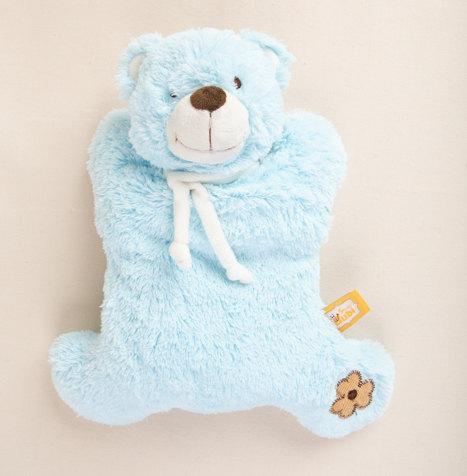 מארז לידה - בובת דובי רך עם פעמון 1 _ק.j