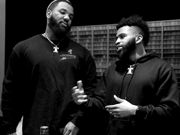 Steve Murray and American Rapper The Game
