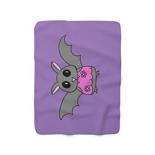 Batty - Sherpa Fleece Blanket