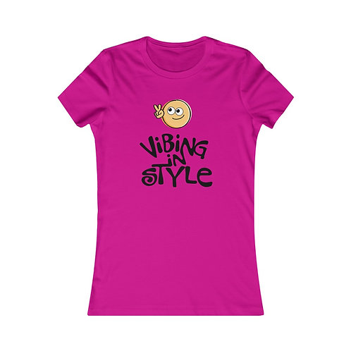 Peace, Vibing in Style - Women's Tee