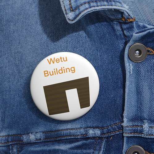 Friend Scouts - Wetu Building Badge - Pin