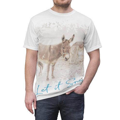 Let it Snow Donkeys - Unisex Tee