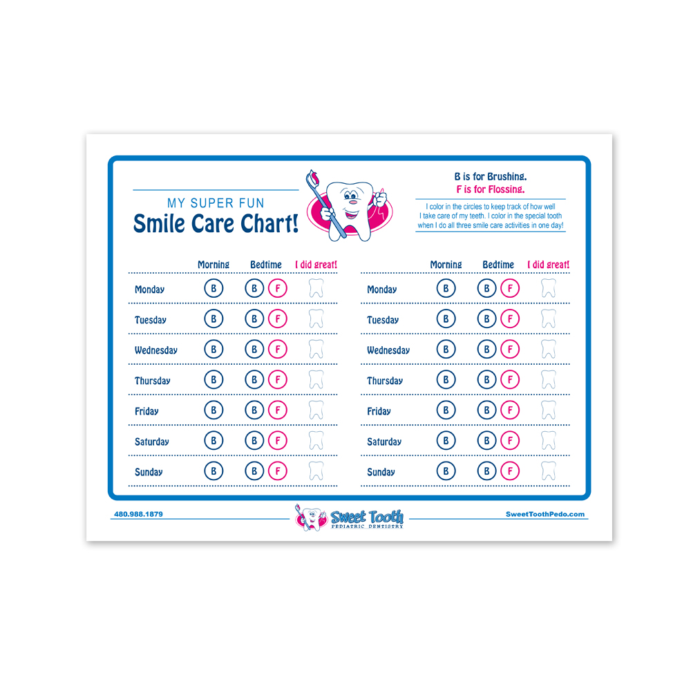 Smile Care Chart