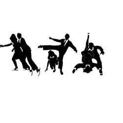 Dance Silhouette Illustration