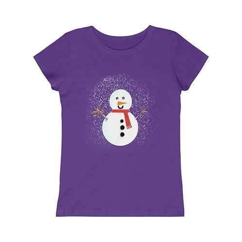 Snowman - Girls Tee