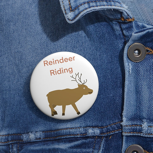 Friend Scouts - Reindeer Riding Badge - Pin