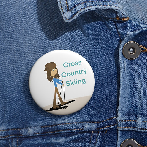 Friend Scouts - Cross Country Skiing Badge - Pin