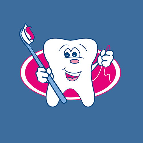Pediatric Dentist Logo/Illustration