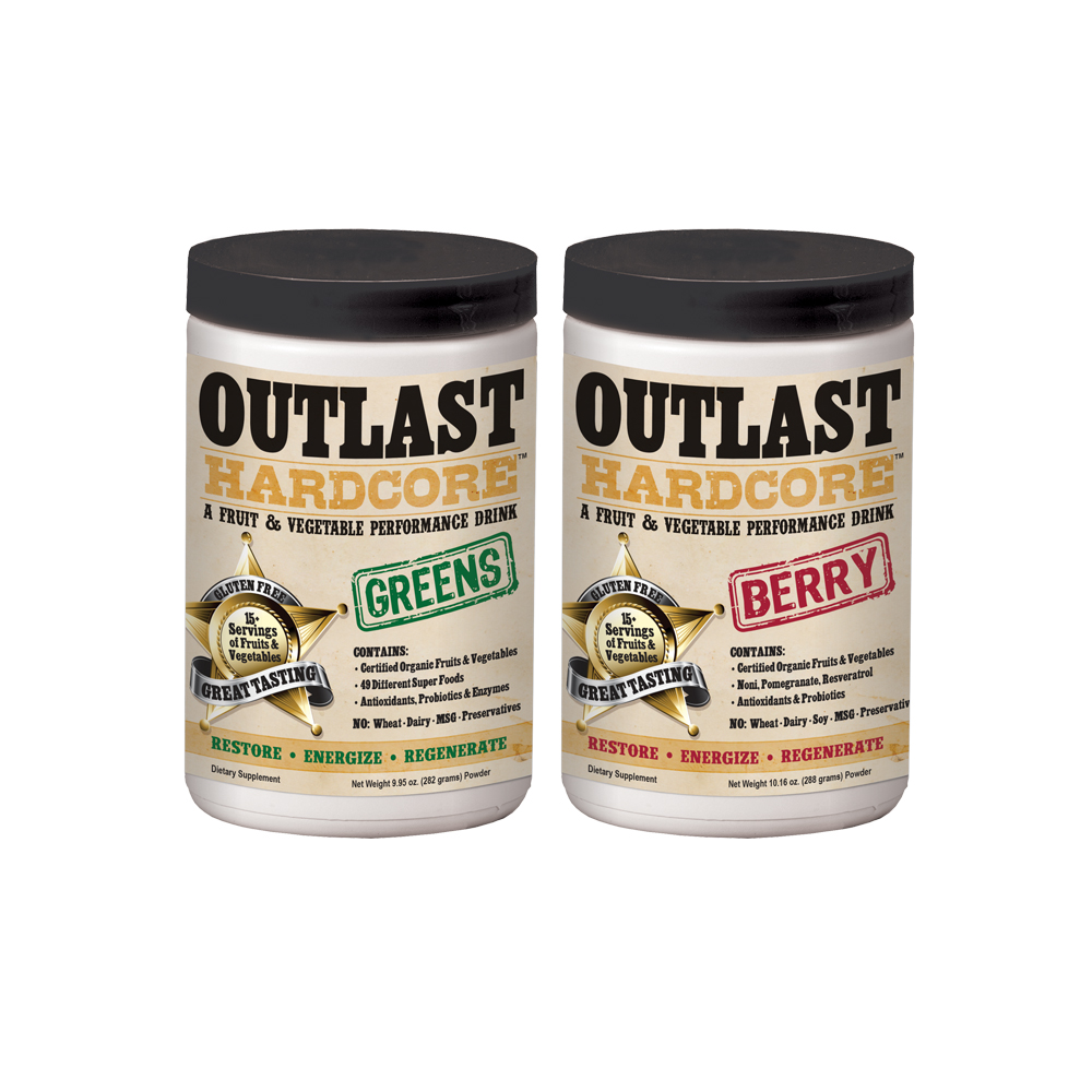 Label Design - Outlast Hardcore