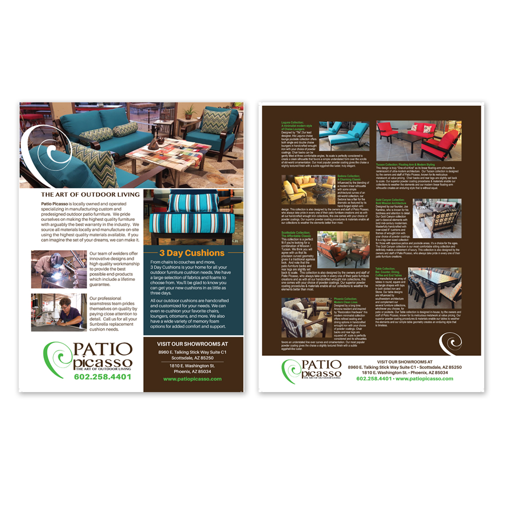 Patio Furniture Store Flyer