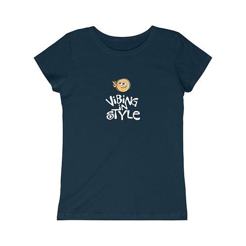 Peace Vibing in Style - Girls Tee