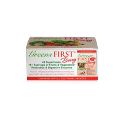 Greens First Berry Travel Packet Box