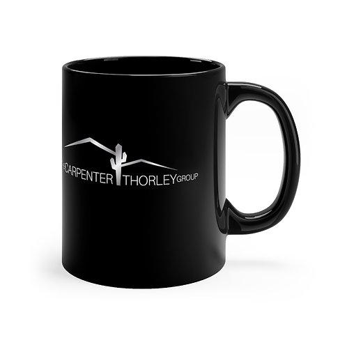 CarpenterThorley - Black mug 11oz
