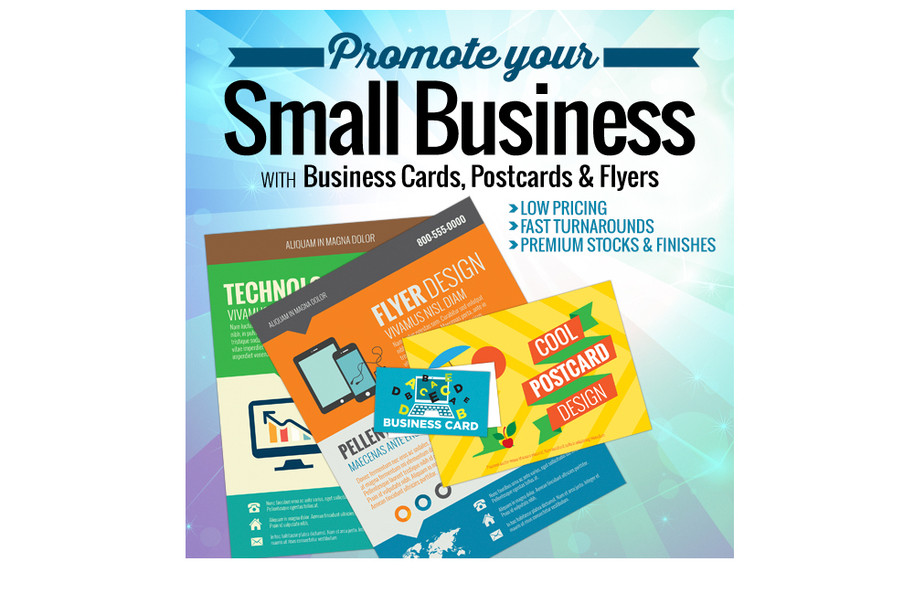 Business Cards, Postcards, Flyers