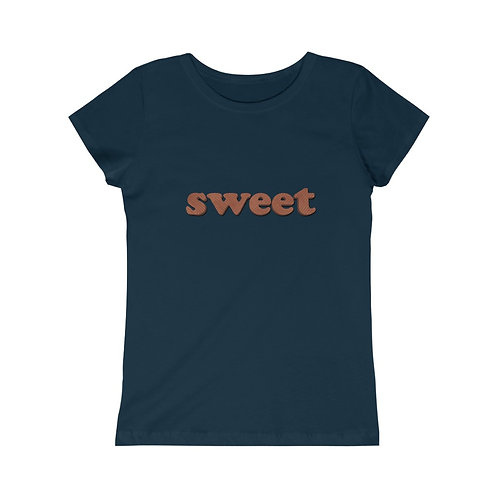 Sweet - Chocolate Waffle - Girls Tee