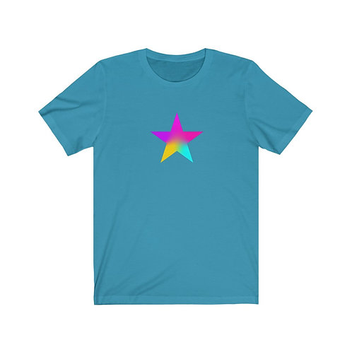 Star of Color - Unisex Jersey Short Sleeve Tee