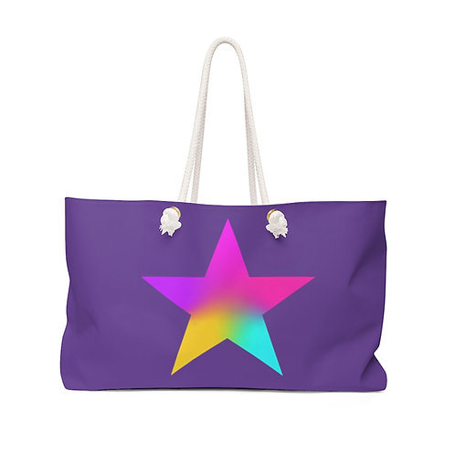 Star of Color - Weekender Bag