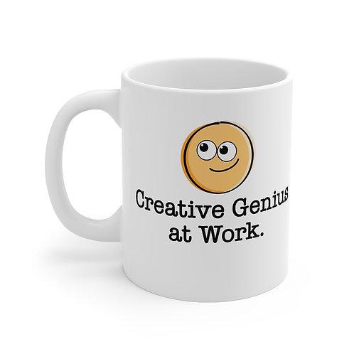 Creative Genius at Work - Mug 11oz