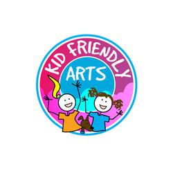 Logo for Kid Friendly Arts
