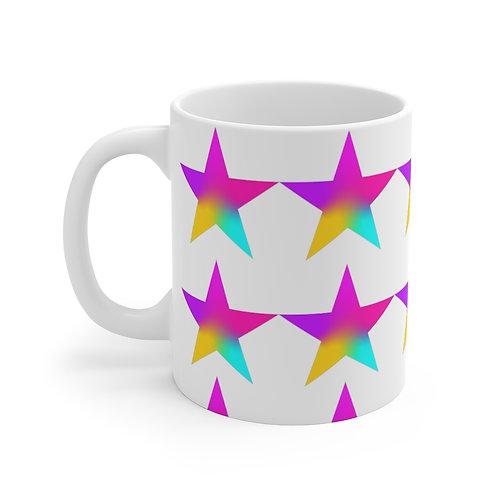 Stars of Color - Mug 11oz
