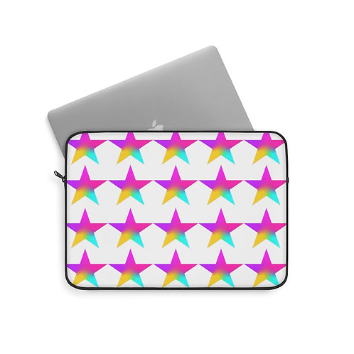Stars of Color - Laptop Sleeve