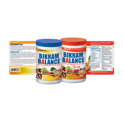 Bikram Balance Labels
