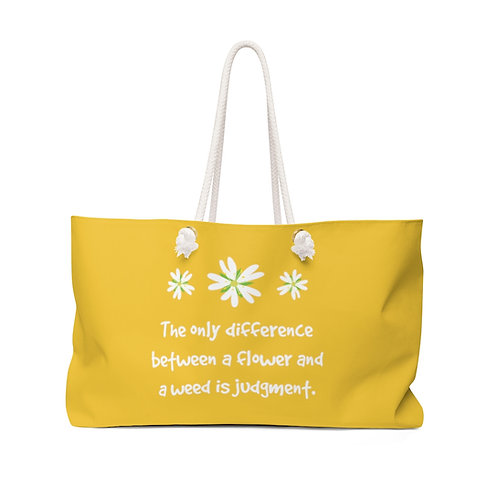 Chickweed - Yellow Herb Gathering Bag