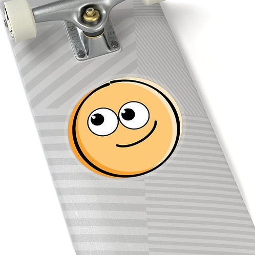 Smiley Guy - Kiss-Cut Sticker