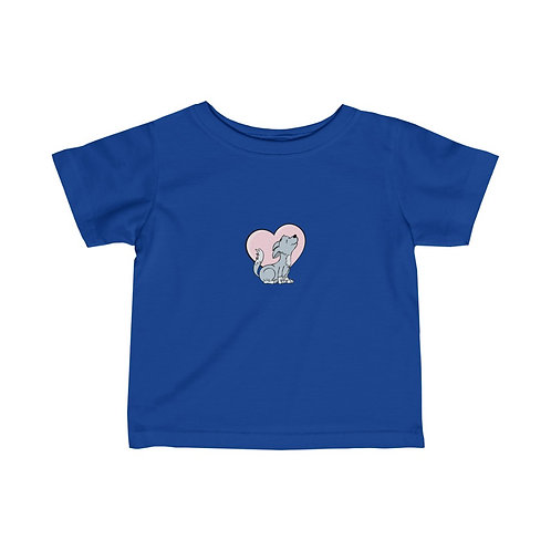 Baby Wolf - Infant Fine Jersey Tee