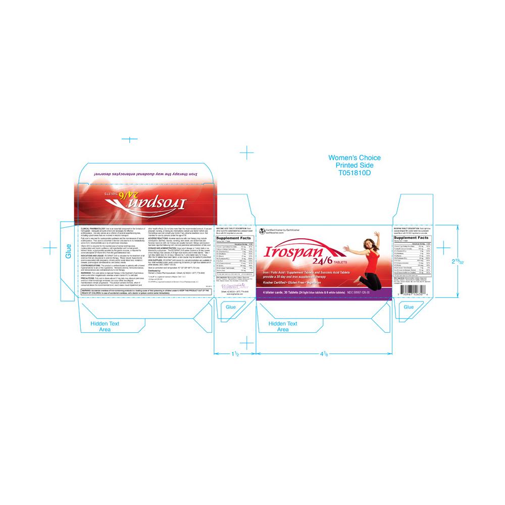 Irospan Iron Supplement Packaging