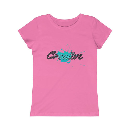 Creative Teal - Girls Tee