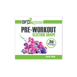 BFD Pre-Workout Label