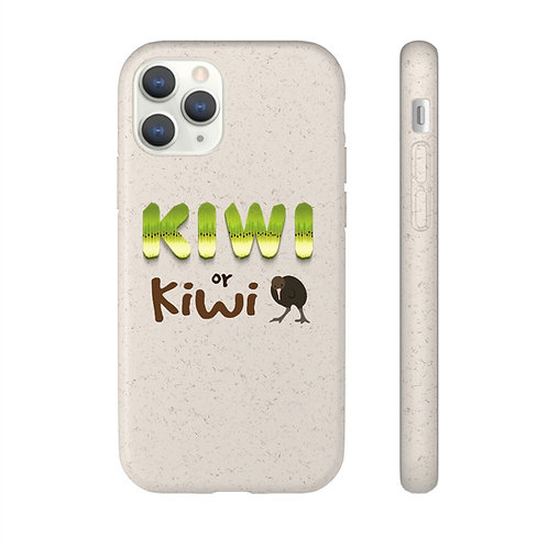 Kiwi- Biodegradable Case