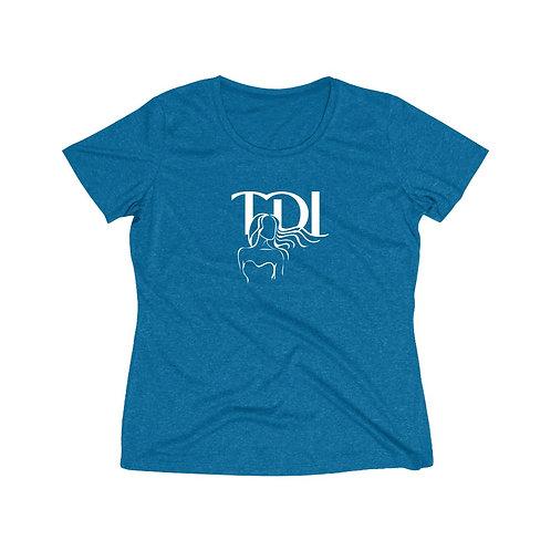 TDI - Women's Heather Wicking Tee