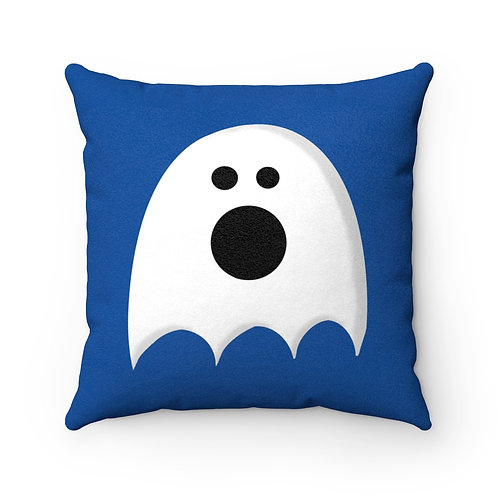 Ghosty - Faux Suede Square Pillow