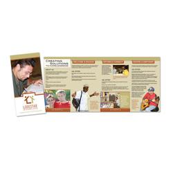 Roll Fold 4-Panel Brochure